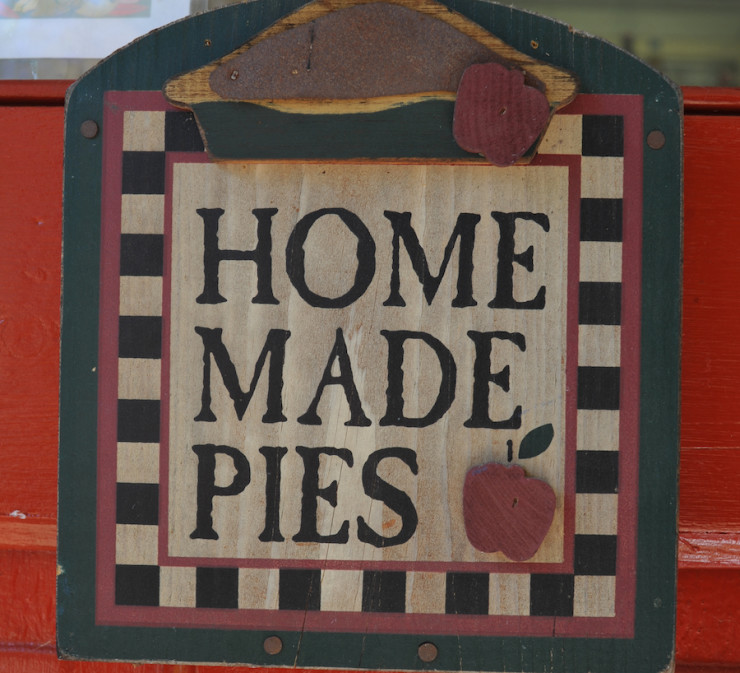 Homemade Pies Sign