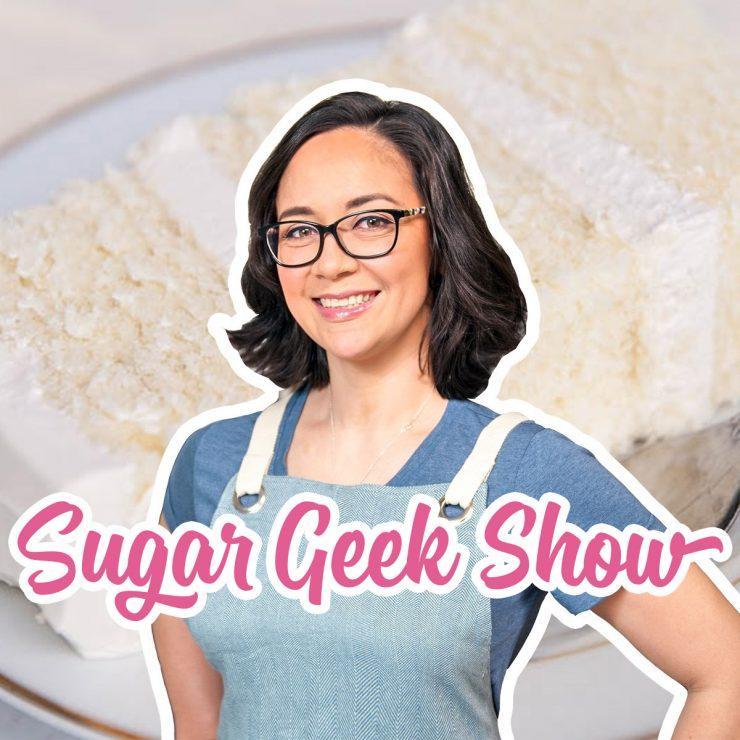 Sugar Geek Show Logo with Liz Marek